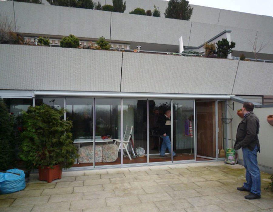Balkonverglasung glasbauzentrum ihr wintergarten zentrum - Wintergarten zentrum fellbach ...