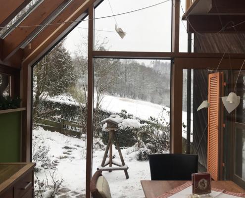Mehrstöckiger Wintergarten
