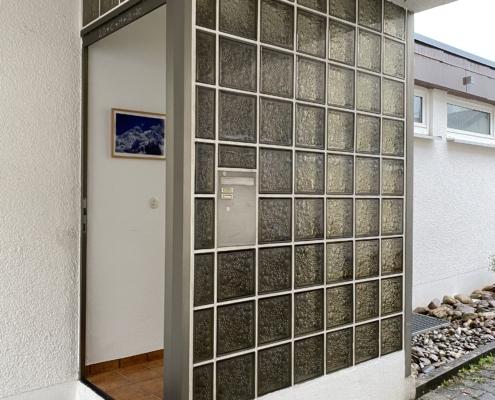 Haustür mit Verglasung