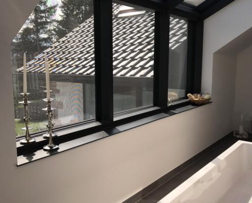 Dachgaube aus Glas