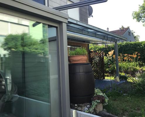Pult Terrassendach Aluminium