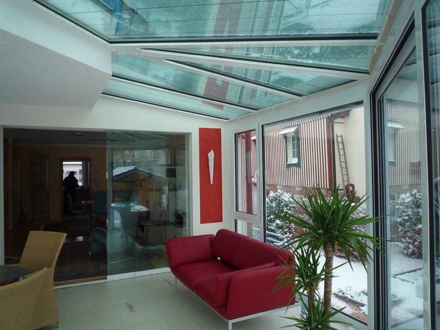 Schlichten Futureline Glasbauzentrum Ihr Wintergarten