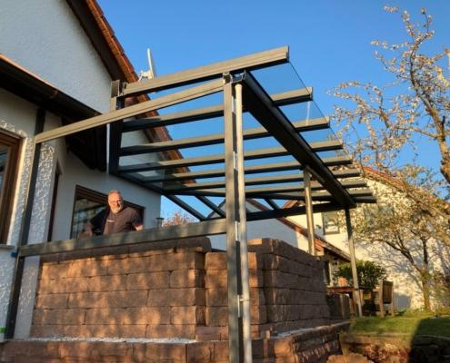 Pult Terrassendach