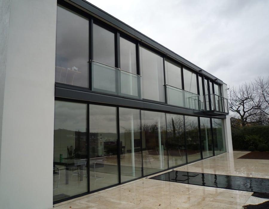 stuttgart minimal windows glasbauzentrum ihr wintergarten zentrum. Black Bedroom Furniture Sets. Home Design Ideas