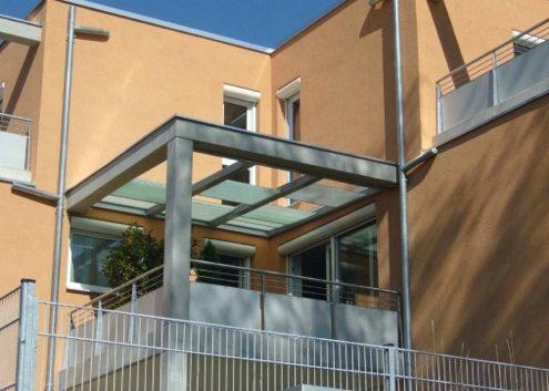 Terrassen Schiebedach