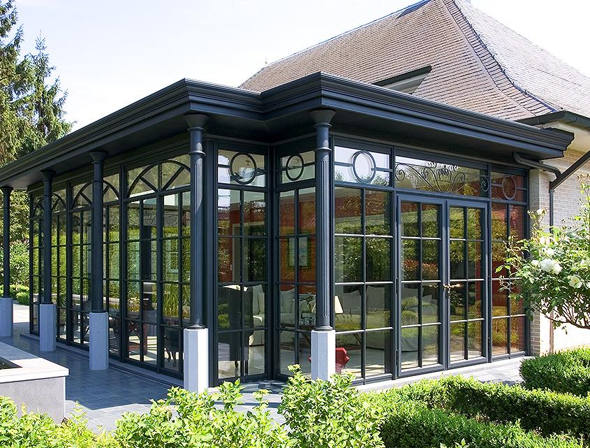 Wintergarten Kolonial-Stil, Orangerie