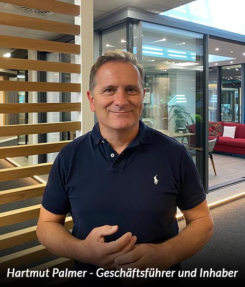 Hartmut Palmer - Geschäftsführer und Inhaber von Das Glasbauzentrum in Fellbach und Haigerloch