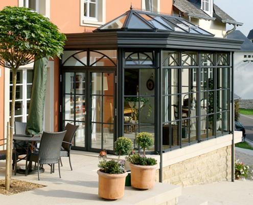 Stil Wintergarten